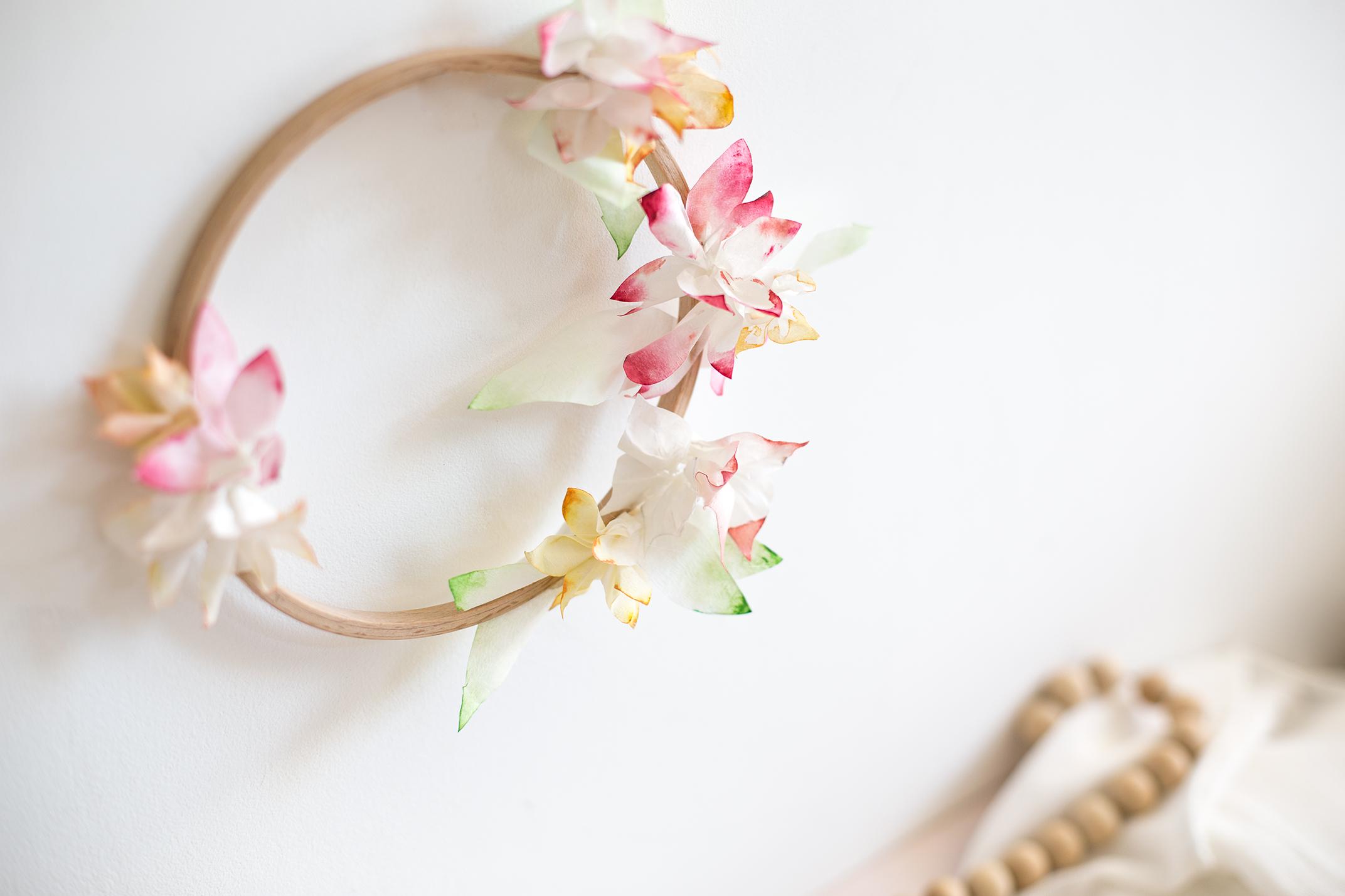 Faire une couronne de fleurs fashion designs - Faire une couronne de fleurs ...